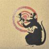 banksy dirty funker radar rat brown close up of rat