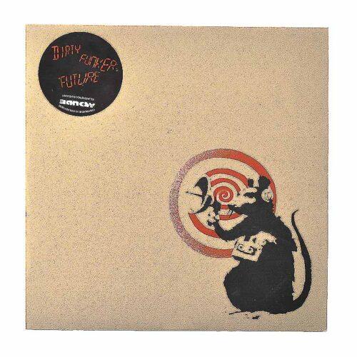 banksy dirty funker radar rat brown front cover