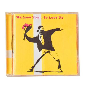 banksy we love you so love us cd front