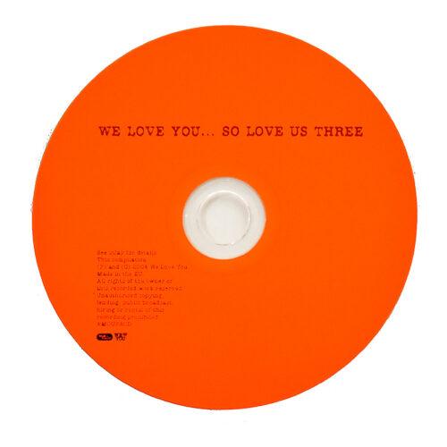banksy we love you so love us three cd