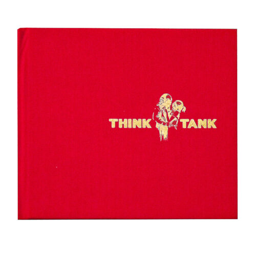 banksy blur think tank limited edition cd front cover