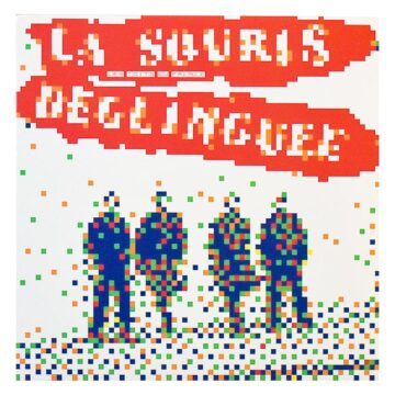 invader la souris deglinguee vinyl record front cover