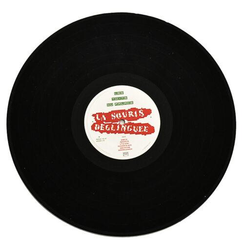 invader la souris deglinguee vinyl record