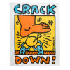 keith haring crack down poster
