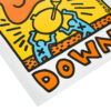 keith haring crack down poster showing bottom left detail