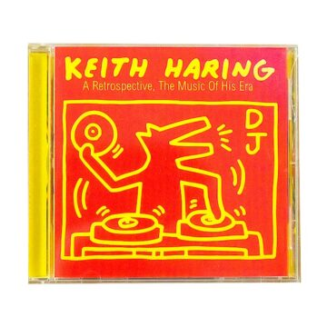 keith haring a retrospective cd front cover