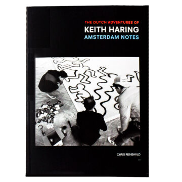 front cover of the dutch adventures of keith haring book