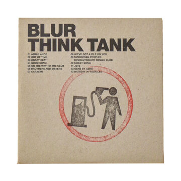 banksy blur think tank promo cd front cover
