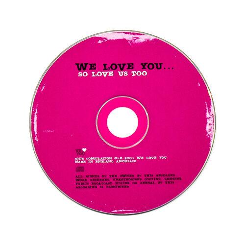 banksy we love you so love us too cd