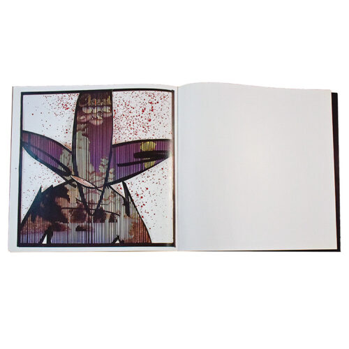 futura a life heavy fucken art volume 1 open booklet with futura arr