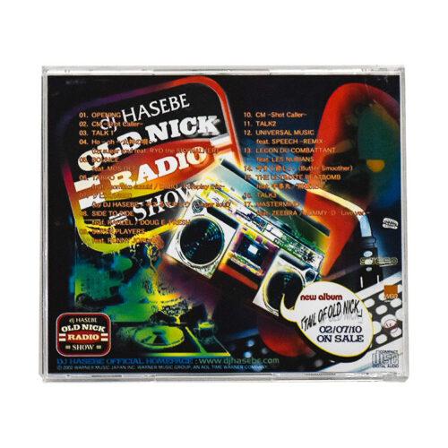 kaws dj hasebe old nick radio show cd back cover
