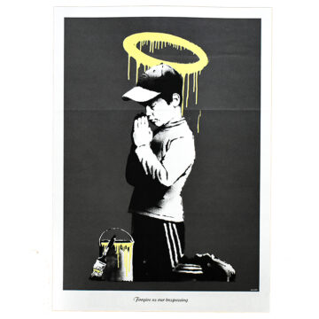 banksy forgive us our tresspassing
