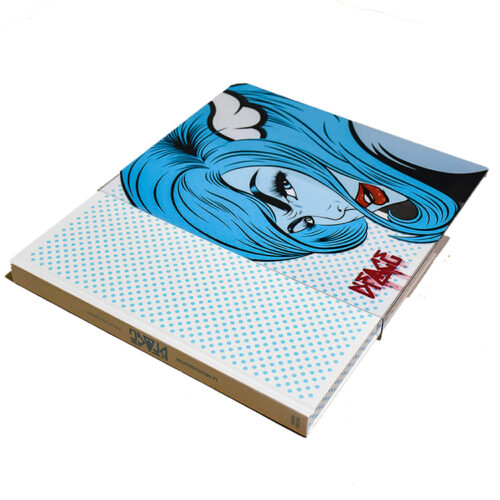 dface the monograph signed book with printed slipcover