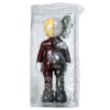 kaws companion brown flayed shown from back of sealed package