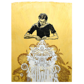 swoon alison the lacemaker print